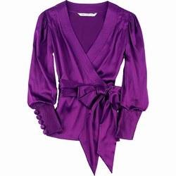 Top & blouse © Diane von Furstenberg