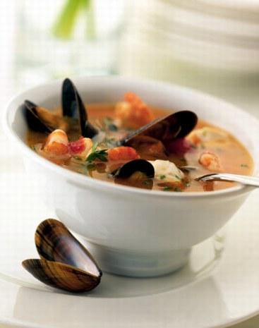 Recette: soupe de poisson