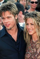 Jennifer Aniston et Brad Pitt font encore parler d'eux... © Sipa