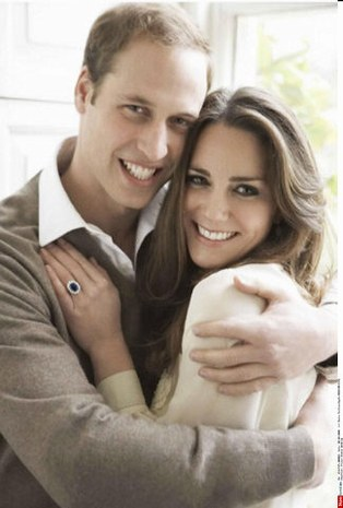 Le prince William et Kate Middleton, heureux ! ©Sipa