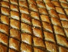 Baklawas, pâtisserie orientale