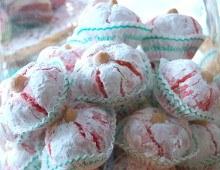 Boules d'amandes, pâtisserie orientale