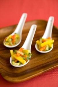 Légumes pour l'apéritif