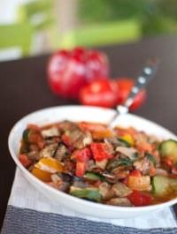 Légumes migotés