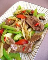 Recette boeuf au wok