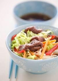 Recette boeuf - salade