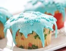 Cupcake pâte d'amande