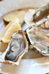 Recette de Noël aux huîtres