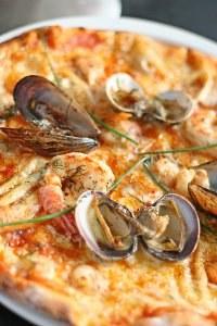 Recette pizza: Pizza de la mer