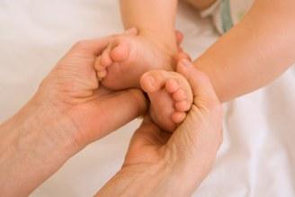 Massage de bébé