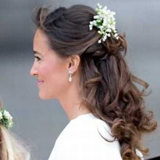 Pipa Middleton, témoin de Kate lors du mariage princier