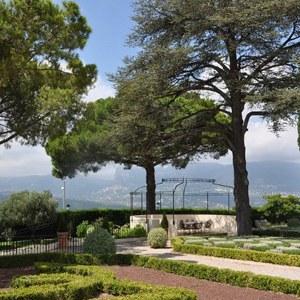 Jardin du Château de Crémat à Nice © Lescablog