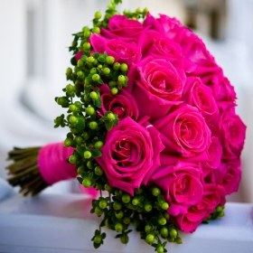 Bouquet de mariée rond © Frances Fleurs