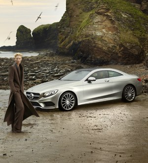Tilda Swinton © Mercedes-Benz Fashion