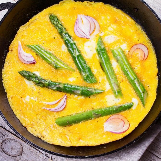 Omelette aux légumes ©istock