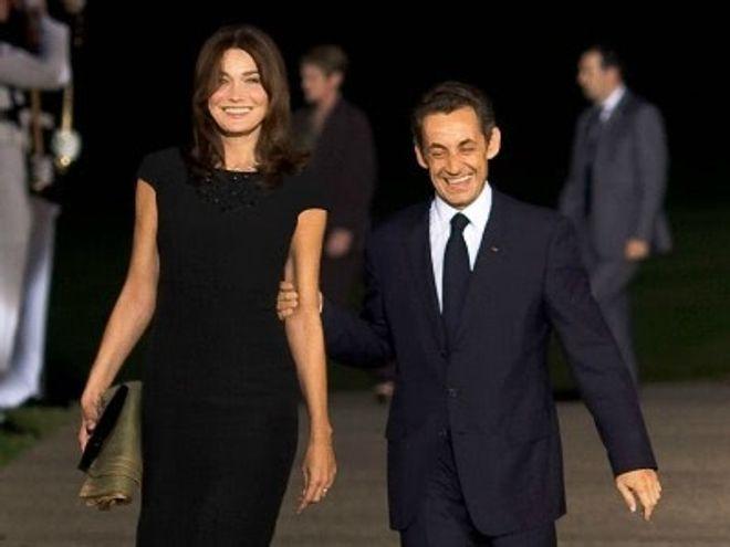 Carla Bruni Nicolas Sarkozy Photo De Leur Fille Giulia Parole De Mamans