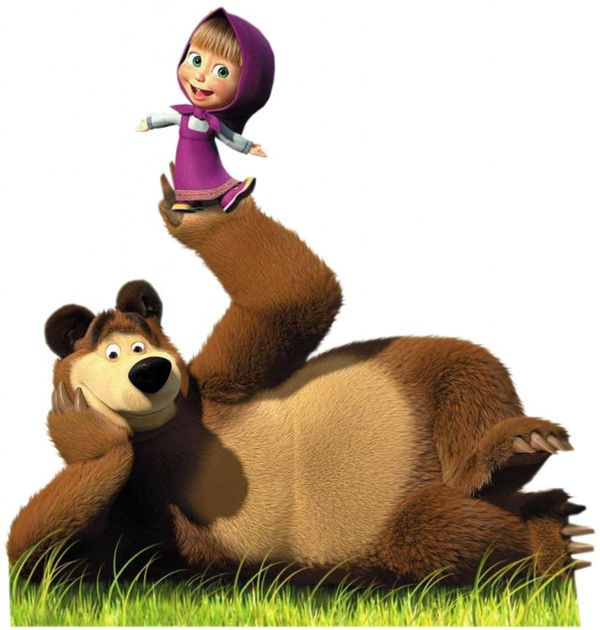 Mon coup de coeur : Masha and the Bear ( Masha et Michka)