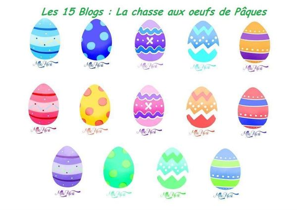 LA CHASSE AUX OEUFS DES 15 BLOGS : and the winners is ...