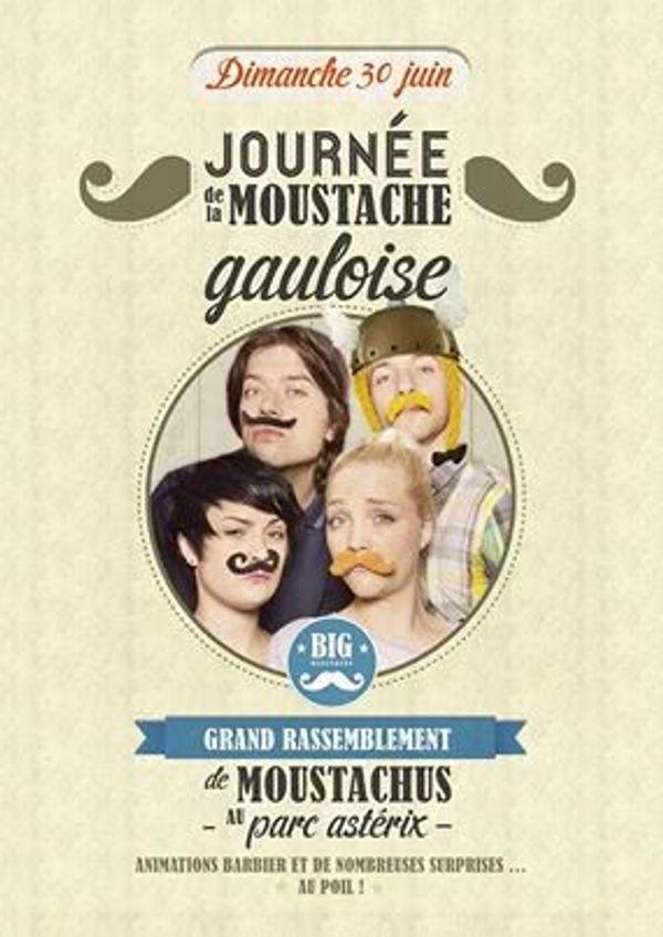 Journée Moustachu au Parc Astérix !!!!