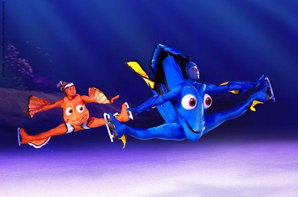 100 ans de Disney sur glace