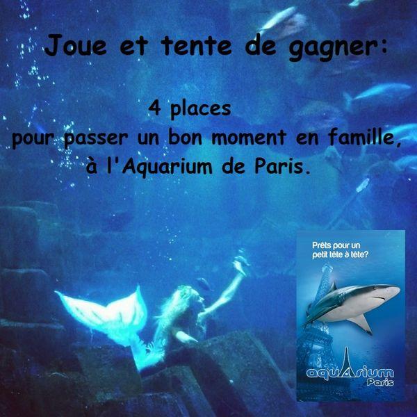 Rencontre avec une vraie Sirène à l'aquarium de Paris + des places à gagner