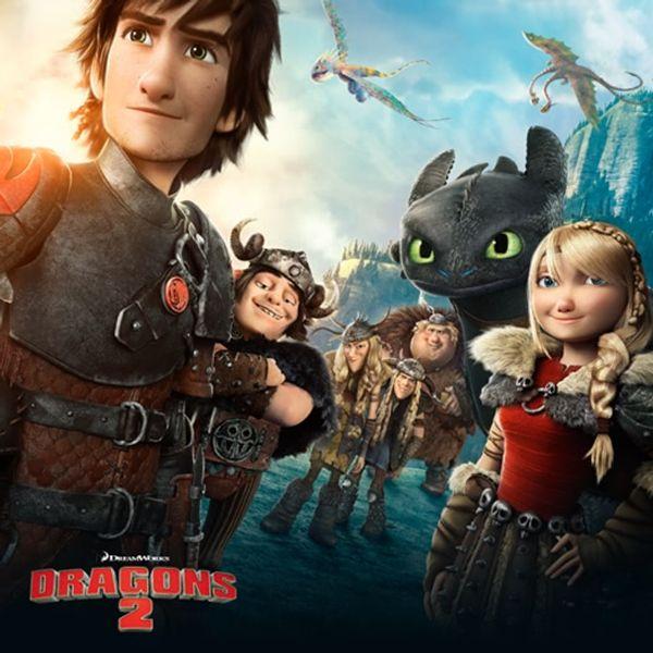 CINEMA: Dragons 2....Le retour tant attendu!!