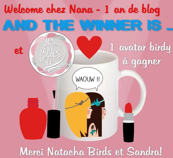 Qui a gagné l'avatar birdy sur Welcome chez Nana?