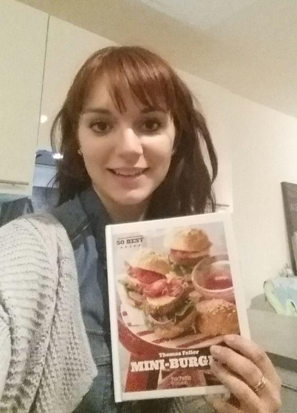 Livre de recettes pour réaliser de délicieux burgers !!