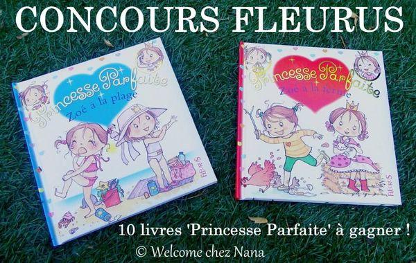 CONCOURS : 10 livres Princesse Parfaite (FLEURUS) à gagner !