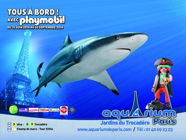 Sortie: Playmobil fête ses 40 ans à l'Aquarium de Paris!!