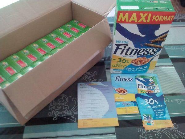 campagne Fitness -30% de sucres