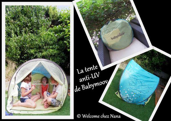 La tente anti - UV de Babymoov, testée et approuvée (test + avis)