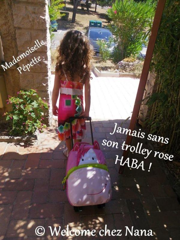 Le trolley rose HABA, coup de coeur de ma pépette (test et avis)
