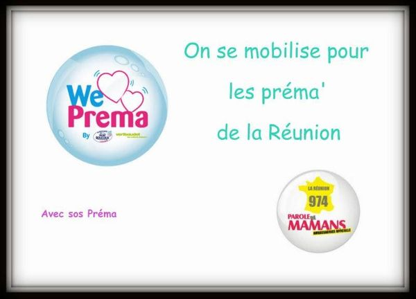 La Réunion lé là pour nos ptits  Bichiques avec SOS Préma