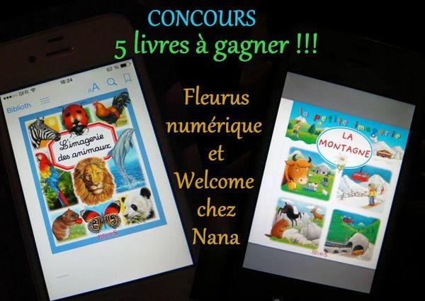 CONCOURS : 5 livres FLEURUS NUMERIQUE à gagner sur le blog