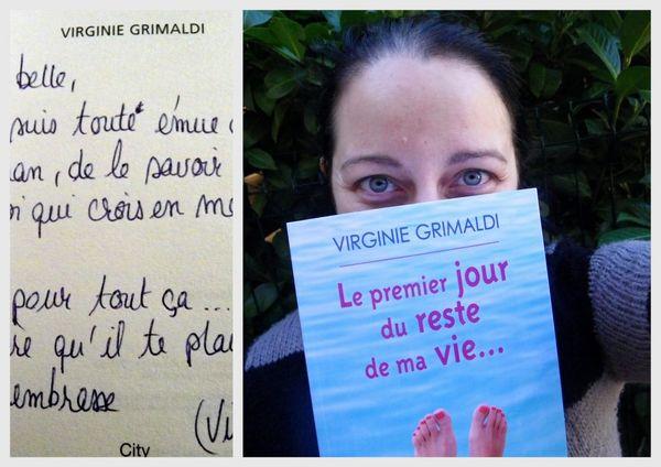 COUP DE COEUR :  Le premier jour du reste de ma vie (Virginie Grimaldi)