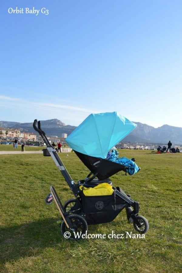 Une belle journée en Orbit Baby G3 (Avis + test)