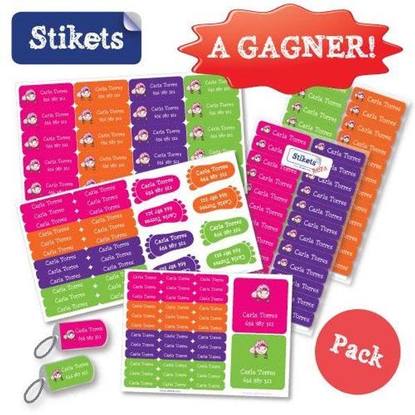 On prépare la rentrée avec STIKETS + 1 basic pack à gagner