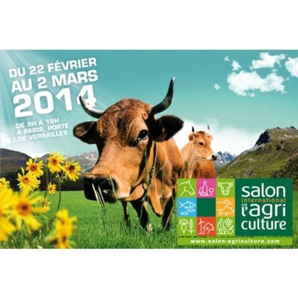 Salon de l'agriculture 22 février au 2 mars 2014