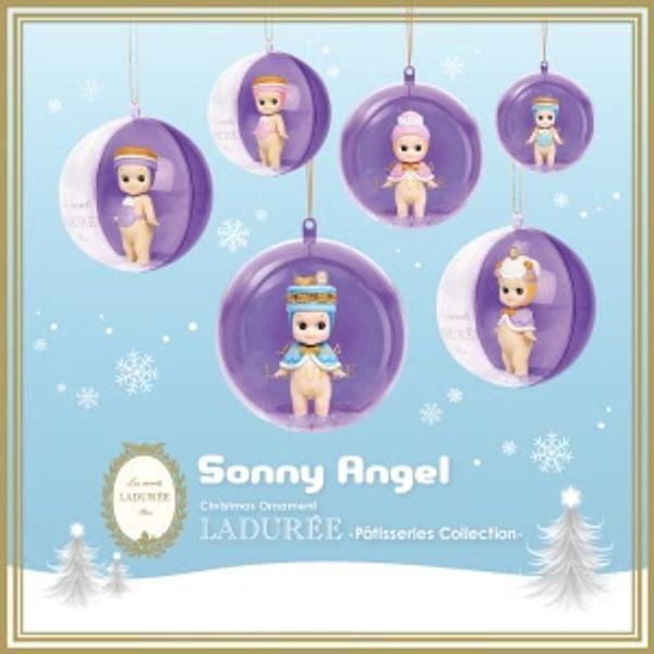 Une décoration de Noël chic et kawaii avec les boules de Noël Sonny Angel Ladurée