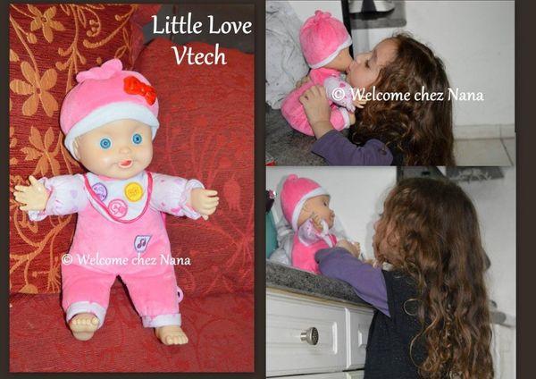 Idées cadeaux : Little Love de Vtech (avis et test)