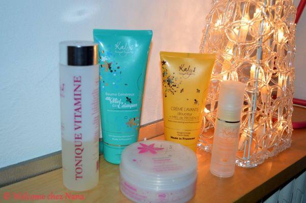 CONCOURS :  2 coffrets Kalys Natural Cosmetics à gagner