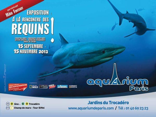 A la rencontre des requins et de Maud Fontenoy à l'Aquarium de Paris + 1 pass famille à gagner