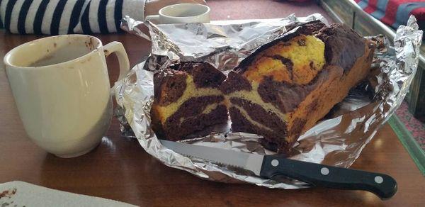 Recette gâteau marbré vanille chocolat de ma grand mère !!