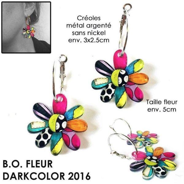 Jeu concours pour remporter une sublime paire de boucle d'oreilles colorées :)