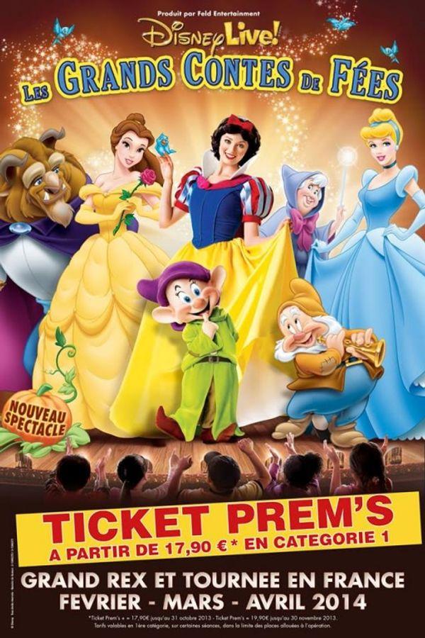 Un bon plan pour aller à Disney Live Les grands contes de fées sans se ruiner!!