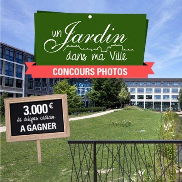 Bon plan concours: Un jardin dans ma ville / Crédit Agricole