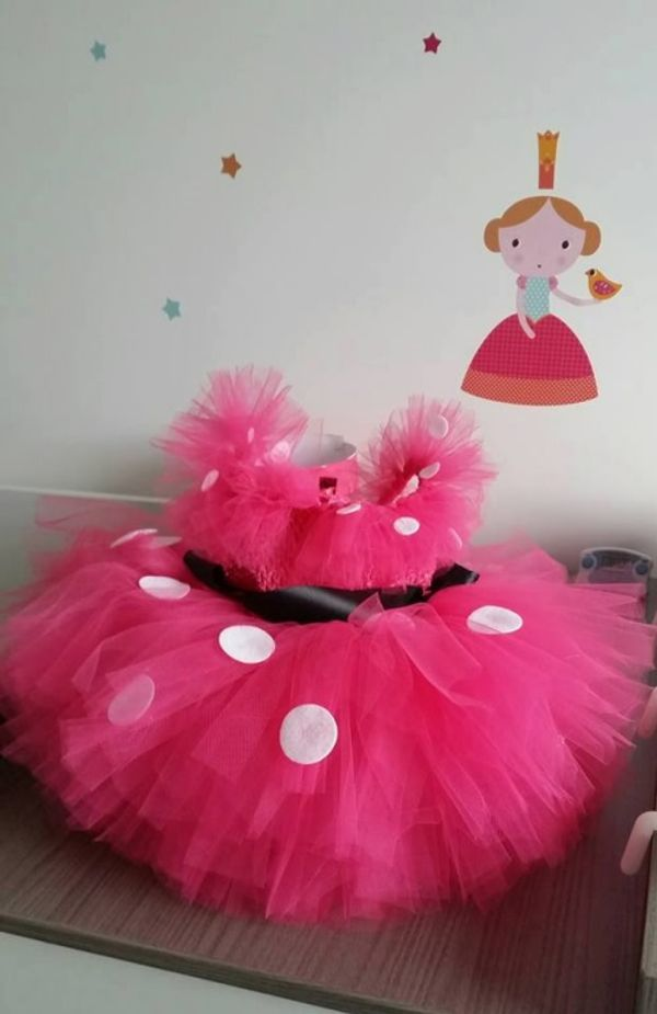 Sublime robe Minnie :) avec Turlu tutu !!