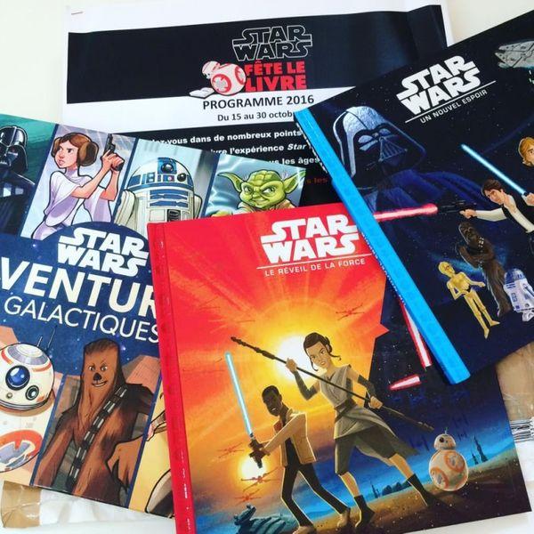Star Wars fête le livre + CONCOURS