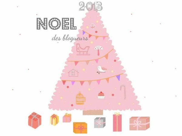 Les Noel des blogeurs - Mon sapin